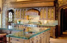Italian kitchen designs are one of the most popular designs for a kitchen. They are simple yet tasteful and include a multitude of themes that you can include for an inexpensive overall design. Choosing the best kitchen design plan for… Continue Reading → Kitchen Themes, Kitchen Decor, Kitchen Ideas, House Paint Interior, Interior Design, Tuscan Style Homes, Mediterranean Home Decor, Best Kitchen Designs, Tuscan Decorating