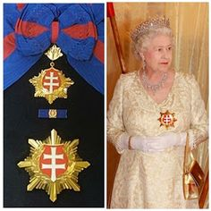 SLOVAKIA - Order of the White Double Cross (First Class) Endowed in 2008 by the President of Slovakia 3, Ivan Gasparovic