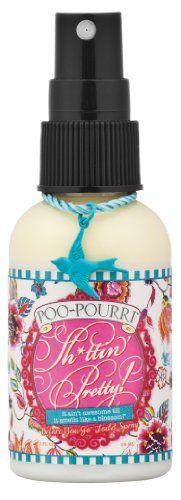 Poo-Pourri 3-piece Bathroom Deodorizer Set Shittin' Pretty:Rose, Jasmine and Citrus