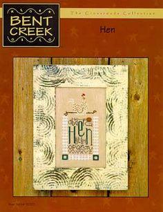 Bent Creek Hen - Cross Stitch Pattern