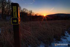 Evening on the IAT - Ice Age Trail near Baraboo, Wisconsin