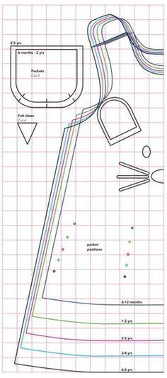 patrones de ropa infantil para imprimir jumper