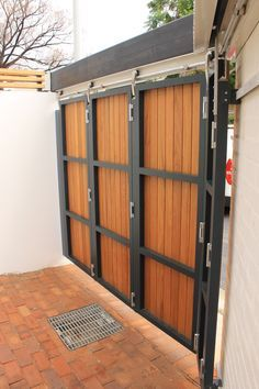 We Recently Completed The Supply And Installation Of 16 Telescoping Sliding Gates For Townhouses In Erskenville