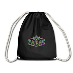 Lotus | Yoga | Meditation | Seerose | Wasserlilie | Lotusblume | Turnbeutel | Bag | Tasche | #floral