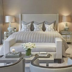 Relaxed bedroom