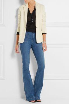 Isabel Marant Blazer, Alexander Wang top, Frame Denim jeans