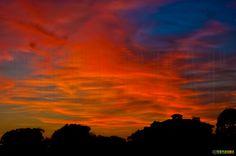 Anochecer en Chiclana. Cádiz. Foto: Teresa Soria.