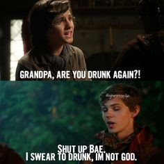 Aahh! I love once upon a time! Peter Pan is the best Villain ever