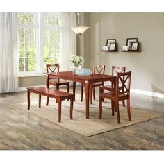 7 Piece Dining Set Espresso  Just In Accent Chairssofas & More Best Better Homes And Gardens Dining Room Inspiration Design