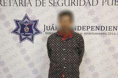 Juárez, Chih.-En acciones permanentes para combatir el delito de narcomenudeo, elementos de la Policía Municipal arrestaron a José