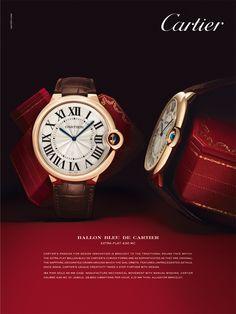 Ballon Bleu De Cartier Chronograph 8101 Mc