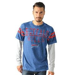 G-III Men's NFL® Buffalo Bills Blowout Long Sleeve Tee