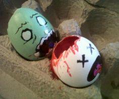 huevos de pascua Zombies!