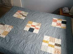 Persimmon quilt - back