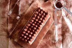 Σοκολατένιο <br>παγωτό παρφέ — Paxxi Chocolate Pudding, Pina Colada, Tiramisu, Waffles, Breakfast, Food, Thoughts, Coffee, Gastronomia