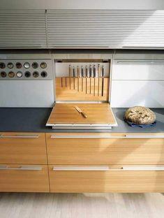 23 Incredible kitchen without island – decorisme – Type Of Kitchen Storage Küchen Design, Design Case, House Design, Design Ideas, Layout Design, Diy Kitchen, Kitchen Interior, Kitchen Ideas, Kitchen Cabinets