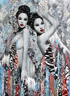 "Hush - Street Art - ""Muse"""