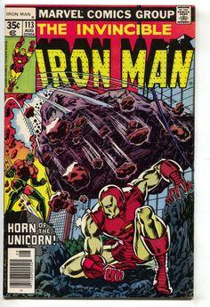 Invincible Iron Man 113 1978 VF NM Marvel Super Special 4 Beatles Spider-Man Ad