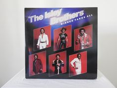 The Isley Brothers – Winner Takes All The Isley Brothers, Vintage Records, Vinyl Records
