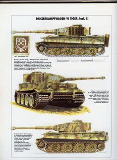 German Tiger Tank: