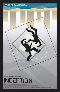 INCEPTION MINIMALIST POSTERS