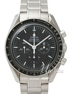 Omega Speedmaster Professional First Man on Moon Musta/Teräs Omega Speedmaster Racing, Omega Speedmaster Reduced, Luxury Watch Brands, Luxury Watches For Men, Trendy Watches, Modern Watches, Elegant Watches, Omega Seamaster, Stainless Steel Watch