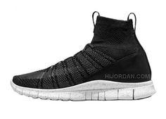 check out 67e02 56c8d 2015 Nike Free Flyknit Mercurial Superfly HTM Mens Shoes Black Dark  Grey-White 667978-001, Price   89.90 - Air Jordan Shoes, Michael Jordan  Shoes
