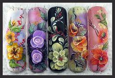 3D Acrylic. 2 level. by Arinita - Nail Art Gallery nailartgallery.nailsmag.com by Nails Magazine www.nailsmag.com #nailart