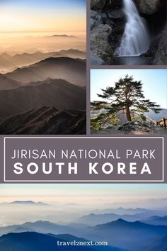 Jirisan National Park. My heart is beating wildly and I'm not completely convinced that I have the stamina to trek all the way to the top. We're only a third of the way up the Nogodan trail and the route is gradually becoming steeper. #jirisanmationalpark #travelguide #traveltips #explore #southkorea Travel Guides, Travel Tips, Asia Travel, Continents, South Korea, Trek, Third, National Parks, Explore