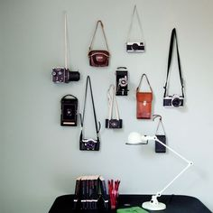 Vintage cameras | Displaying collections | PHOTO GALLERY | Homes & Gardens | housetohome.co.uk