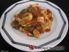 Κινέζικο κοτόπουλο, εύκολο, ιδανικό για μπουφέ και γίνεται σε 3 μόνο βήματα! Asian Recipes, Ethnic Recipes, Kung Pao Chicken, Chinese Food, Food Dishes, Potato Salad, Food Processor Recipes, Recipies, Cooking Recipes