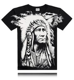 Black Heavy Metal 3D T Shirt