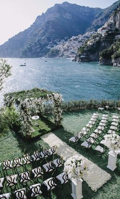 A Floral-filled Purple Destination Wedding In Positano, Italy
