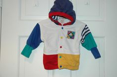 Viintage Gymboree baby boy hoodie in primary colors- ***SOLD*** https://www.etsy.com/listing/187701416/vintage-boating-hoodie-by-gymboree-in?