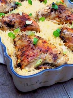 This baked chicken rice is delicious and easy to prepare since it is suf … - Quick and Easy Recipes Meat Cooking Times, Cooking Bread, Cooking Ham, Cooking Salmon, Meat Recipes, Chicken Recipes, Cooking Recipes, Healthy Recipes, Yum Yum Chicken