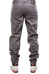 Dirty Robbers Denim Co. The Ford Jogger in Charcoal Denim