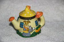 Mushroom Teapot House Trinket Box