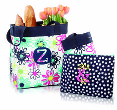 Essential Storage Tote Zipper Pouch Grocery Shopping Bundle Thirty-One