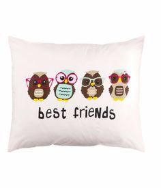 H&M US | Pillowcase - owls best friends