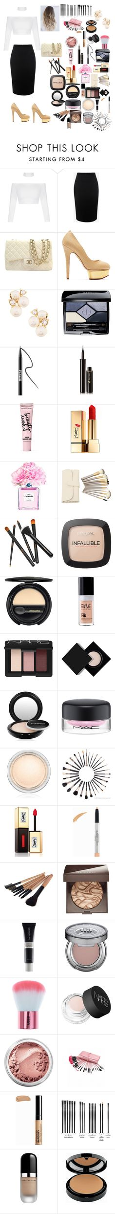 """""""Disco                            Party                       """" by fashion-dora15 ❤ liked on Polyvore featuring Alexander McQueen, Chanel, Charlotte Olympia, Anne Klein, Christian Dior, Ardency Inn, Lancôme, Beauty Rush, Yves Saint Laurent and L'Oréal Paris"""