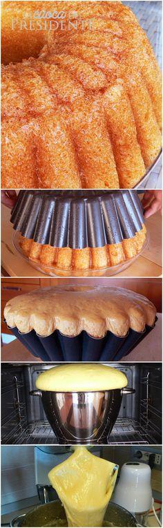 Neapolitanischer Baba - O You Sweet Thing - Krapfen Sweet Recipes, Cake Recipes, Dessert Recipes, Mini Desserts, Just Desserts, Cooking Chef, Cooking Recipes, Cupcake Cakes, Cupcakes