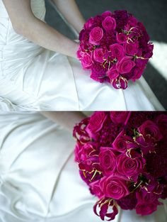 Bright pink bouquet...OMG I AM IN LOVE WITH THIS COLOR!!!!