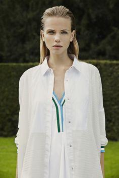 GENERATION OFF LOVE SS14 #women #spring #summer #sporty #minimalist #white #dress
