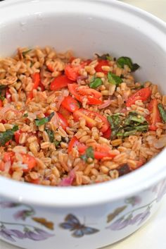 BLT Farro Salad | The Naptime Chef