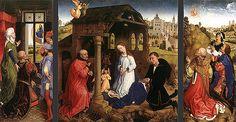 Retable Bladelin, après 1450, Rogier van der Weyden, Berlin, Staatliche Museen