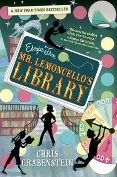 Escape from Mr. Lemoncello's Library BL: 4.5/AR: 7