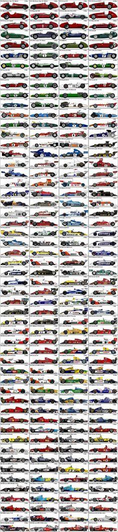 Winning race cars!