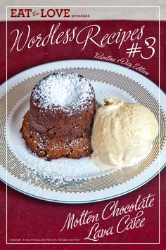Molten Chocolate Lava Cake - A photo essay recipe by Eat the Love. Chocolate Cake From Scratch, Chocolate Roll Cake, Chocolate Lava Cake, Magic Chocolate, Homemade Chocolate, Chocolate Desserts, Cake Recipes, Dessert Recipes, Dessert Ideas