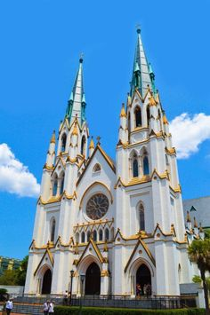 Cathedral of St. John the Baptist, Savannah, Georgia