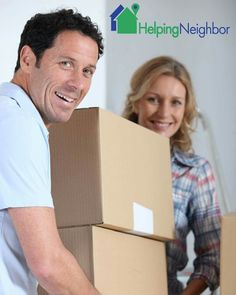 """Changing chapters and moving into a new home? Picking up the pieces and relocating yourself can be a lot easier with a little help.  We can help you find qualified movers to help you with your move.  Signup to become a helper or a hirer at www.HelpingNeighbor.com -Note: on our home page, please click on the green button named """"sign up"""" and submit your email address.  And like us at www.Facebook.com/HelpersAndHirers  #helpingneighbor #HelpersAndHirers"""
